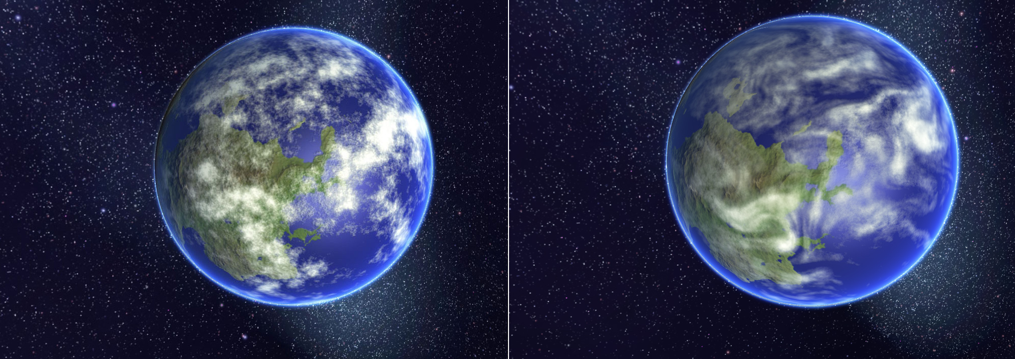 old earth vs new earth The new web-based google earth is based on a completely new graphics engine so, we wondered whether or not google had implemented any compression algorithms or other.